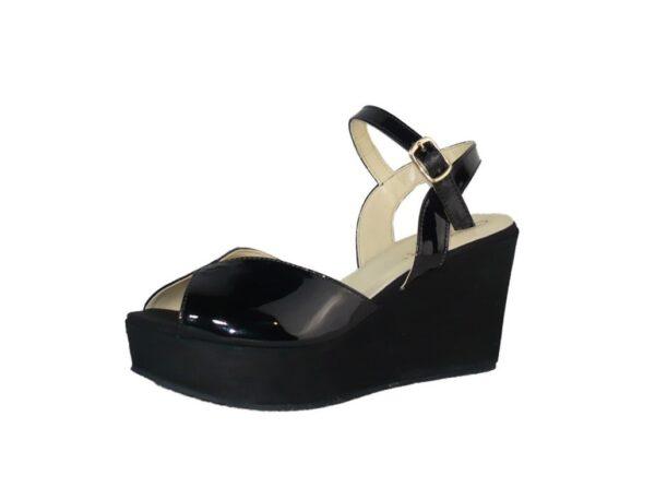 Cinturino Soft Sandalo E Con Zeppa CavigliaCinzia In Vernice Alla vm0wON8n