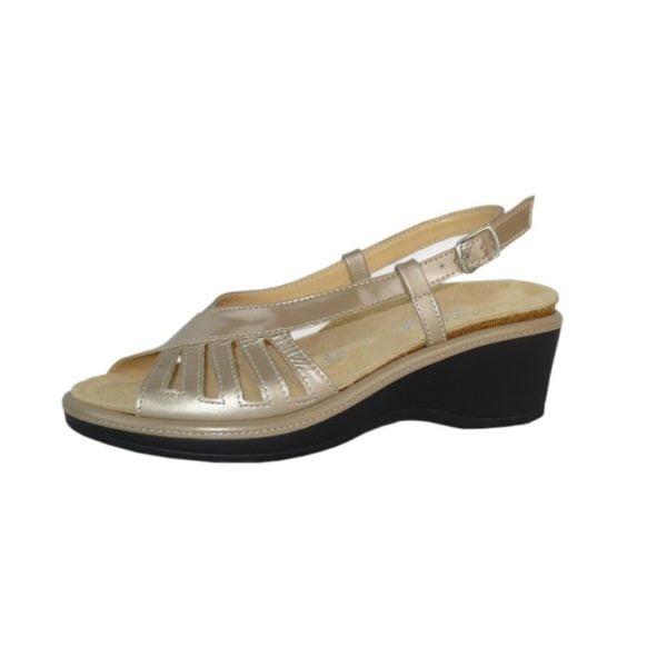 rivenditore di vendita 9ed1e 5561c Sandalo comfort con plantare estraibile Cinzia Soft